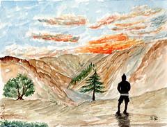 Defis mesaquarelles.com - image compose (ybipbip) Tags: watercolor painting paint aquarelle peinture watercolour pintura aquarell akvarell aquazine