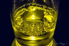 #118 Cerveza (Giancarlo Filippini) Tags: birra bolle bottiglia 366