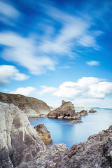 Mupe Bay (tariqphoto) Tags: seascape water landscape bay landscapes long exposure dorset april 2016 mupe