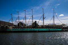 SS Great Britain (clogette) Tags: england water river bristol boat ship unitedkingdom flags gb harbourside ssgreatbritain hotwells