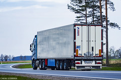 Volvo FH IV 500 Globetrotter XL #ARTYSTYCZNE# (Micha Szczerbowski) Tags: volvo jan boogie 500 iv fh xl globetrotter boksz chodnia naczepa usugi transportowe