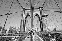 Brooklyn Bridge (lukedrich_photography) Tags: new york city nyc newyorkcity bridge urban usa ny newyork tower public water brooklyn america canon river us unitedstates suspension metro manhattan unitedstatesofamerica engineering pedestrian cable cables walkway transportation brooklynbridge eastriver northamerica borough metropolis gotham bigapple engineer metropolitan waterway estadosunidos nuevayork newamsterdam  megacity tatsunis nationalhistoriclandmark  nationalregisterofhistoricplaces thecitythatneversleeps vereinigtestaaten cablestay thecapitaloftheworld nationalhistoriccivilengineeringlandmark eastriverbridge empirecity johnaugustusroebling     newyorkandbrooklynbridge    t1i canont1i lavilledenewyork