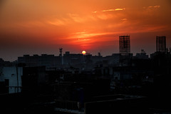 A beautiful sunset in the Walled City of Lahore (umair434) Tags: pakistan sunset sky nature landscape lights asia streetshots orangesky lahore photooftheday canonphotos delhigate skyporn canonshots canon6d canonimages lahorephotos justgoshoot agameoftones artsofvisuals