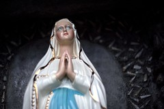 Pray for us sinners () Tags: statue maria madonna mary statua