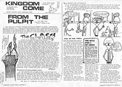 From the pulpit.... (stillunusual) Tags: punk clash punkrock 1978 1970s kingdomcome newwave theclash fanzine punkzine punkfanzine johnnywaller