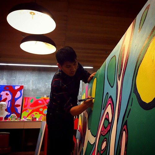 #andyyen #art #Swatch_Art_Peace_Hotel #graffiti #arts #安地羊 #沒有身體的器官 www.andyyen.com