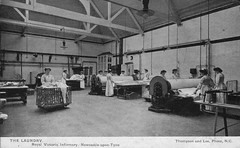 Laundry, Royal Victoria Infirmary, Newcastle (robmcrorie) Tags: history newcastle royal victoria tyne medical health national laundry nhs service medicine infirmary