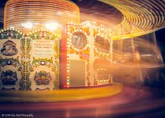 Golden Carousel... (Dan Elms Photography) Tags: london canon lights fairground londoneye carousel fair spinning canondslr londoncity cityoflondon 70d goldencarousel canon70d danelms talldan76 danelmsphotography