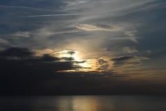 Sonnenuntergang an der Ostsee (Sunset) (HighEmotion-Photography - by Eric Hentze) Tags: sunset sky cloud sun strand germany landscape deutschland see coast meer wasser outdoor zuhause himmel landschaft sonne ostsee kste