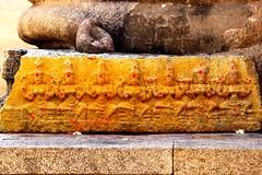 Indian Goddesses with Turmeric & Kumkum!!! (Natesh Ramasamy) Tags: vacation slr history tourism statue stone architecture canon temple photography eos photo ancient asia tour artistic god goddess picture kingdom pic divine holy devotion spiritual devotee devotional hindu turmeric hinduism andhra canoneos southindia southasia kovil kumkum lepakshi natesh ramasamy hindupur swamy kungumam veerabhadra anantpur koyil 700d andhrapradhesh t5i kumkumam ramnaganat canont5i