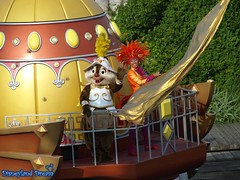 The Legend of Mythica (Disneyland Dream World) Tags: disneysea tokyo dale disney mickey donald chip pluto minnie tac tic legend et dingo the mythica