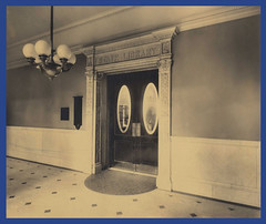 State Library of Massachusetts Entrance, ca. 1895-1915 (State Library of Massachusetts) Tags: bostonmassachusetts massachusettsstatehouse massachusettslegislature statelibraryofmassachusetts