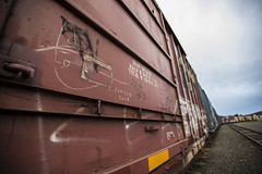 _DSC0259 (thegoodlife616) Tags: railroad oregon graffiti trains freighttrains freights benched graffititrains benching benchingsteel
