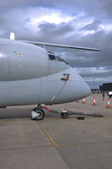 04th July 2010 RAF Waddington Airshow (rob  68) Tags: 04th july 2010 raf waddington airshow hawker siddeley nimrod r1 xw665 cn 8040 sigint 51 squadron newark air museum nose section auto technik germany