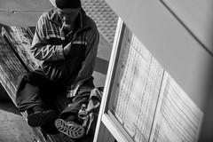 (Chi Nian Chen Photography) Tags: city people bw white black fuji f14 taichung   xf35 monochrone xt1