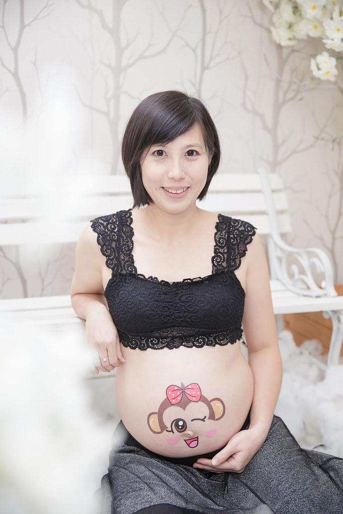 孕婦寫真,孕婦攝影,蘿絲可可,孕婦棚拍,Doris084