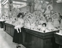 Doll Department New F.W.Woolworth Store Cleveland, Ohio Press Photo 1950 (Phillip Pessar) Tags: new ohio retail toy photo store doll ebay five cleveland w f woolworth dime variety press purchase department 1950
