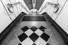 """Triangles"" London, UK (davidgutierrez.co.uk) Tags: city uk greatbritain travel light shadow england urban blackandwhite bw white abstract black london art monochrome beautiful architecture stairs buildings photography lights design blackwhite nikon europe cityscape photographer unitedkingdom britain interior patterns capital transport tube structure symmetry holborn londres londonunderground londra tfl centrallondon  londyn ultrawideangle    d810 nikond810 1424mm davidgutierrez londonphotographer afsnikkor1424mmf28ged davidgutierrezphotography"