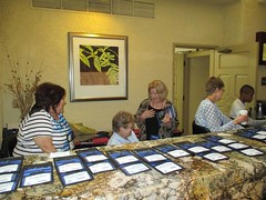 Registration Table Staff and Volunteers