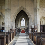 Swaton, St Michel's church, interior thumbnail