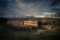 La nature reprend ses droits... (Gilderic Photography) Tags: park sky architecture clouds canon ruins belgium belgique belgie fort outdoor chartreuse liege urbex g7x gilderic
