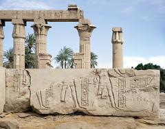 The temple of Montu at Medamud (kairoinfo4u) Tags: egypt egipto ägypten egitto montu égypte aluqsur montou medamud albalyana medamoud