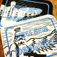 ETHOS (billy craven) Tags: youarebeautiful streetartchicago stickergame galerief yabsticker