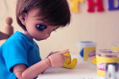 Play-Doh (Lucy-Loves?) Tags: doll tan edward playdoh bjd fairyland piki littlefee