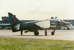 XV759 BAe Harrier GR.3 (Gary J Morris) Tags: airshow exeter bae raf harrier royalairforce airday gr3 egte 233ocu xv759 29081988