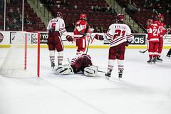 Hockey vs. BU (dailycollegian) Tags: umass bostonuniversity collegehockey umasshockey shannonbroderick nicrenyard