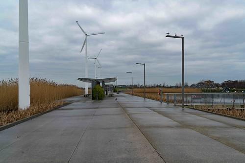 Wind Powered Public Park In Clongriffin Dublin [Father Collins Park]-110930