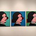 Portrait of Marion Bloch by Andy Warhol, 1975