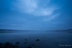 Birds on the lake (guysamsonphoto) Tags: blue water bluehour victoriaville victo heurebleue centreduqubec guysamson rservoirbeaudet zeiss1635f4 sonyalpha7rmkii