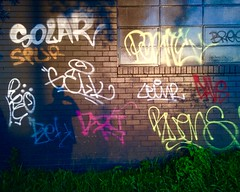 First Selfie of the Year 20160209 (Abhiks) Tags: light sunset shadow west graffiti evening industrial potd concord 2006365 2016366