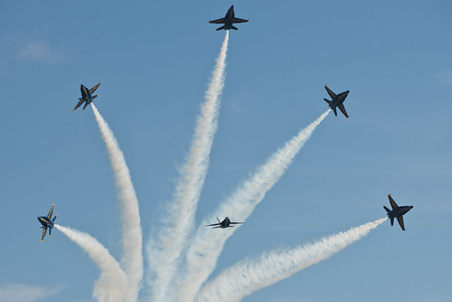 US Navy Demonstration Squadron, the Blue Angels
