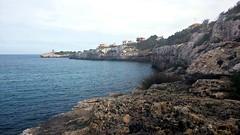 Mallorca (ewadv) Tags: travel sea lighthouse water mar rocks traveling mallorca majorca majorka morze latarnia podr