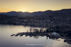 #036 Lugano - Parco San Michel (Enrico Boggia | Photography) Tags: tramonto lugano paradiso febbraio 2016 luganese lagodilugano ceresio foce cassarate parcosanmichele focedelcassarate enricoboggia