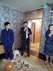 the speech of Mr Darkhan Azhmoldayev (director of Daryn center) (COCAFoundation) Tags: kazakhstan coca autism astana