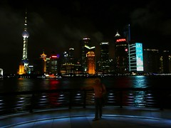 Shanghai (ivlys) Tags: china city night river lights shanghai nacht stadt pudong fluss bund lichter huangpu ivlys