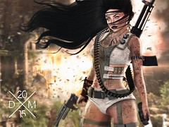 Lara (Divine Melodie) Tags: yummy space mandala warrior tableau freya belleza addams epiphany vivant gacha catwa insufferabledastard