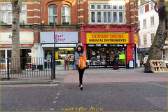 `1597 (roll the dice) Tags: uk trees portrait england people urban music sexy london art classic girl westminster fashion mobile shopping bag pretty sad phone veil natural camden candid empty muslim hijab streetphotography talk stranger covered shops brave mad w1 westend londonist crossrail guitarsdrums tomsdrumsstore