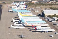 Delta Air Lines Boeing 757-232; N658DL@MZJ;31.01.2016 (Aero Icarus) Tags: arizona plane aircraft flugzeug avion boeing757 deltaairlines planegraveyard mzj n658dl maranapinalairpark