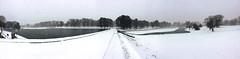 The Ponds at Byrd Park (steeldrivnman) Tags: park snow richmond va jonas byrd 2016