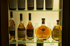 A boire avec modration (jp wiart) Tags: alcool vitrine bouteilles