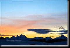 Togwotee Pass Sunset (Daryl L. Hunter - Hole Picture Photo Safaris) Tags: sunset usa unitedstates orangesky grandtetons jacksonhole grandtetonnationalpark yellowsky jaggedmountains