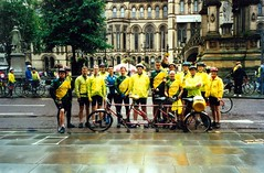 Team TPCC Manchester to Blackpool (flowerpotman!) Tags: film manchester cycling 2000 kodak scan cc cycle trans blackpool pennine transpennine tpcc