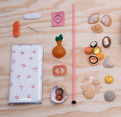 24796475951_0f52ee93a1_o_ (Kitty Came Home) Tags: orange handmade sewing south peach australia vintagefabric apricot vintagebuttons handmadeinaustralia kittycamehome flatlay