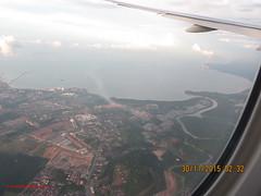 Bandar Dataran Segar from Airplane - Malaysia (Feras.Malaysia) Tags: malaysia sembilan  negeri   71000portdickson bandardataransegar