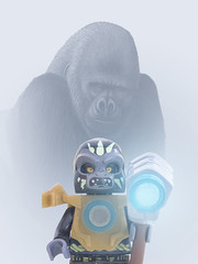 gorille dans la brume (dddaviddd46) Tags: composition lego jouet minifigure gorille lgo