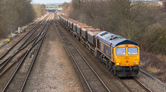 New(ish) GBRf Class 66/7 no 66762 at Tupton on 29-02-2016 (kevaruka) Tags: uk greatbritain winter england color colour colors train canon outdoors flickr colours unitedkingdom outdoor derbyshire transport trains gb 5d february frontpage britishrail chesterfield dbs freighttrain 2016 freightliner class66 ews networkrail gbrf 66762 tupton dbschenker canon5dmk3 5dmk3 canonef100400f4556l 5d3 5diii thephotographyblog canoneos5dmk3 tuptonbridge dbreilfreight ilobsterit